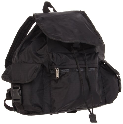 LeSportsac Voyager Backpack,Black,One Size