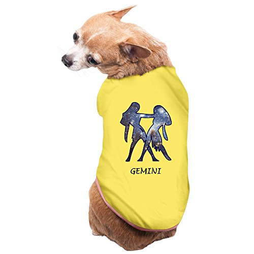 greenday-zodiac-gemini-geminids-cute-pet-dog-tee-size-m-yellow