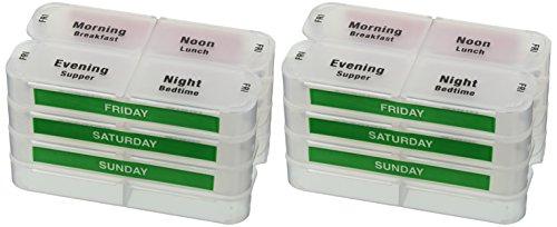 medcenter-traveller-organizador-de-pastillas-compacto-semanal-7-dias-y-funda-de-viaje-de-nailon-idea