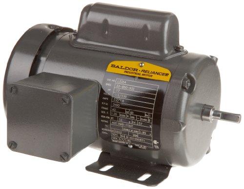 Baldor l3354 general purpose ac motor single phase 42 for Baldor permanent magnet motors