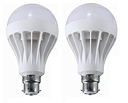 KS 12W LED Bulb (White, Pack of 2)