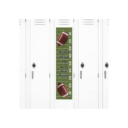 Personalized Football Locker Banner - Party Decorations & Door Covers