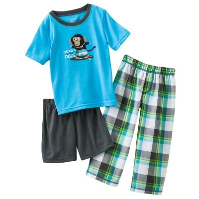 Carter'S Daddy'S Little Dude 3 Piece Pajama Set (Size 18 Months) front-137584