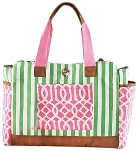 mud pie bigger bundle diaper bag pink. Black Bedroom Furniture Sets. Home Design Ideas