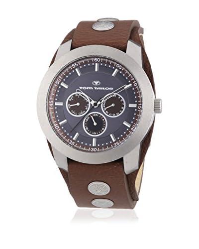 TOM TAILOR Reloj de cuarzo 5412702 Marrón 46 mm