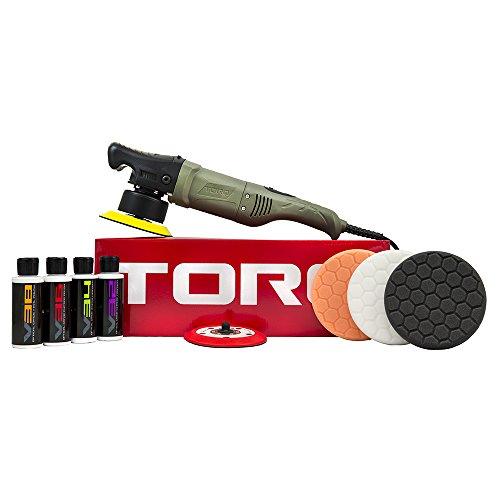 TORQ BUF501X 10FX Random Orbital Polisher Kit (Polisher + 9 Items) (Random Orbital Buffer Polisher compare prices)