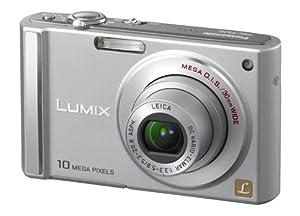 Panasonic Lumix DMC-FS20S 10MP Digital Camera with 4x Wide Angle MEGA Optical Image Stabilized Zoom (Silver)
