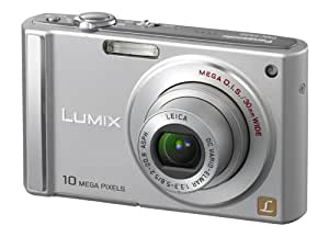 Panasonic Lumix DMC-FS20S 10MP Digital Camera with 4x Wide Angle MEGA Optical Image Stabilized Zoom (Silver)