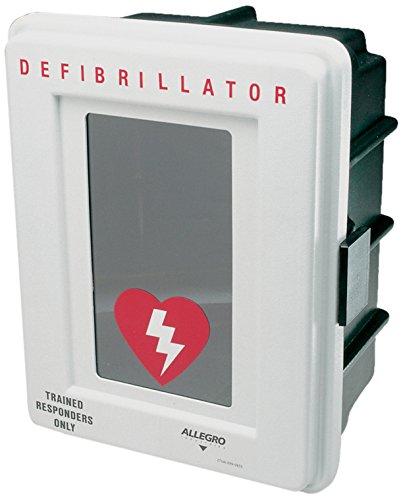 [해외]알레그로 산업 4400DA 플라스틱 제 세 동기 벽면 경보/Allegro Industries 4400DA Plastic Defibrillator Wall Case with Alarm