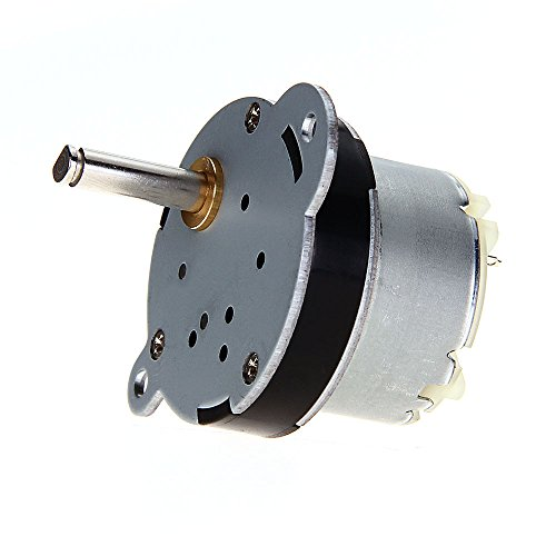 12V Dc 130Rpm 40Mm Powerful High Torque Gear Box Motor Speed Reduction Toy