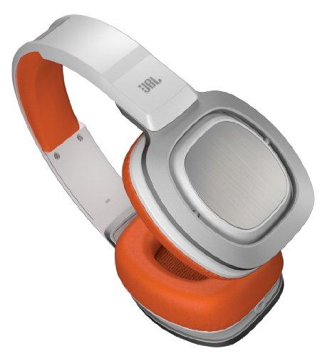 J88 Premium Over-Ear Headphones (Orange And White