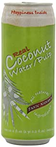 Taste Nirvana Real Coconut Water With Pulp, 16.2-Ounce (Pack of 12)