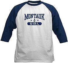 CafePress Kids Baseball Jersey - Montauk Girl Kids Baseball Jersey