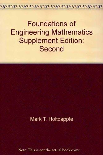 Mathematics Supplement to accompany Foundations of Engineering