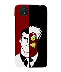 printtech Two Face Superhero Gotham Back Case Cover for Micromax Android A1::Micromax Canvas A1 AQ4502