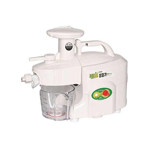 GREEN POWER KEMPO [GPT-E1303] Standard/Exclusive-Pro Twin Gear Slow Juicer Green Fruit Extractor Double Gear (Standard Type, White) (Green Power Twin Gear Juicer compare prices)