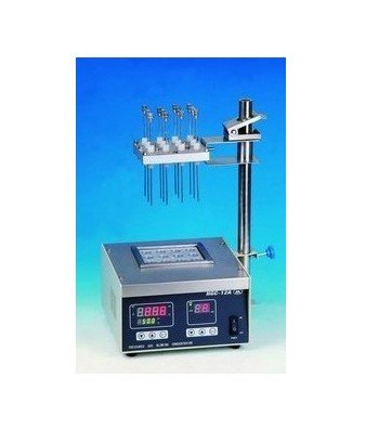 Gowe® Dry Heated Nitrogen Evaporator, Sample Concentrator, 12 Samples Flow Rate 0-5L/Min, Pressure Blowing Concentrator