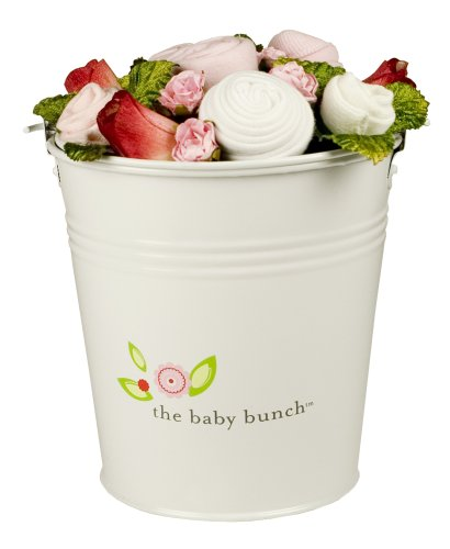 The Baby Bunch Medium Bucket Pink 0 to 6 Months