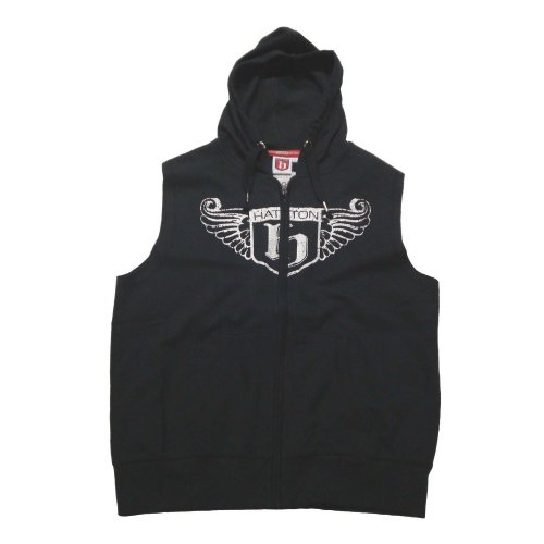 Hatton Boxing Sleeveless Hoody Black Youth