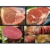 USA Aus 食べ比べ ステーキセット 合計約1.4Kg (Tボーン450g×1個 Lボーン400g×1個 厚切り牛ヒレ120g×5個)ホームパーティーにも最適(お歳暮・お中元・御祝い・お礼/のし無料) -日時指定可能-