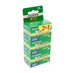 Fuji Superia X-TRA 400-36 Film (Colour) 3 Pack