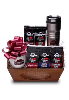 San Francisco Bay Coffee, Gourmet Coffee Gift Basket
