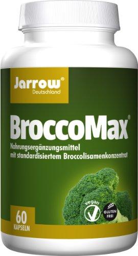 防癌抗氧化,Jarrow杰诺 BroccoMax西兰花萃取精华 60粒图片