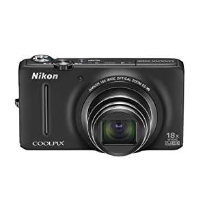 Nikon COOLPIX S9200 16 MP CMOS Digital Camera with 18x Zoom NIKKOR ED Glass Lens and Full HD 1080p Video (Black)$169.00