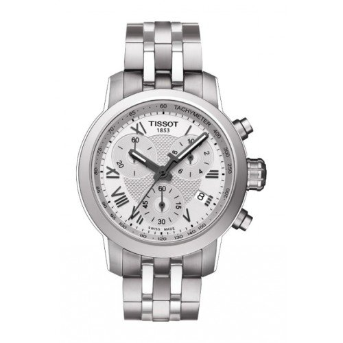 Tissot T055.217.11.033.00 Silver Dial Stainless Steel Ladies Watch