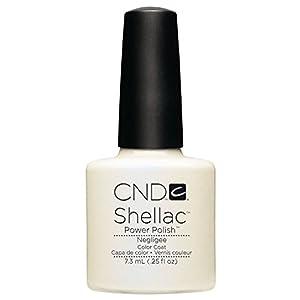 CND Shellac Nail Polish, Negligee, 0.25 fl. oz.