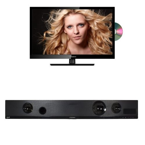 Ocosmo 32-Inch 720P 60Hz Led-Lit Tv With Built-In Dvd Player And Sound Bar