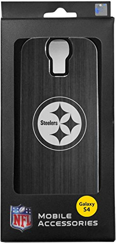NFL Pittsburgh Steelers Etched NFL Case for Samsung Galaxy S4, Yellow/Black by South Bend Sporting Goods