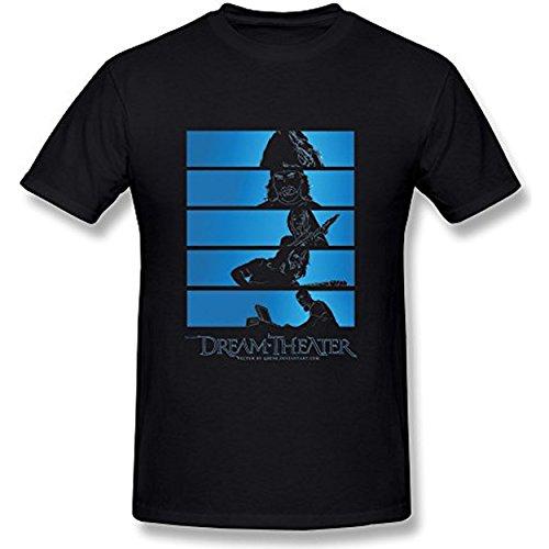 Taiyan-JBJ Men's Dream Theater James LaBrie T-shirt