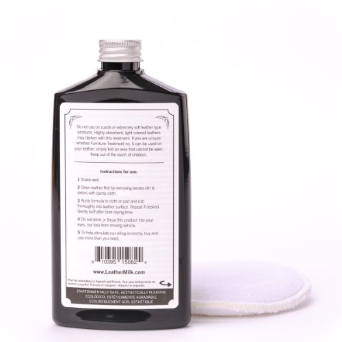 Save Leather Milk Furniture Treatment No 5 Natural Leather Conditioner And Cleaner