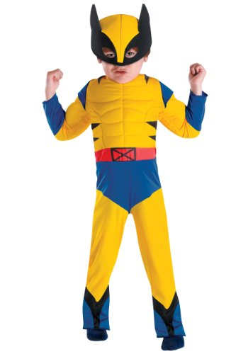 X-Men Wolverine Muscle Toddler Costume