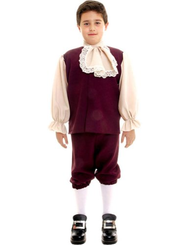 Colonial Boy Md Kids Boys Costume