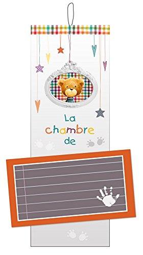 Titoutam-T1128-Plaque-de-Porte-Personnalisable-Charlie-Blanc