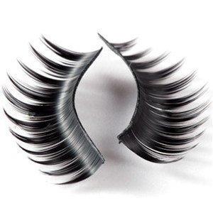 20 Pairs Black Long HANDMADE Voluminous False Eyelashes Eye lashes