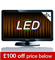 Philips 32 32PFL5605H Full HD 1080p LCD TV with Freeview