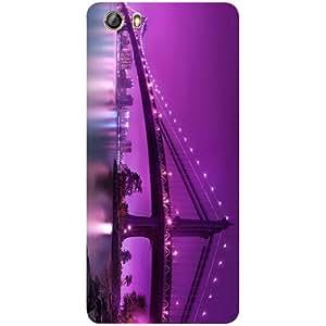 Casotec Manhattan Bridge Design 3D Printed Hard Back Case Cover for Gionee Marathon M5 lite