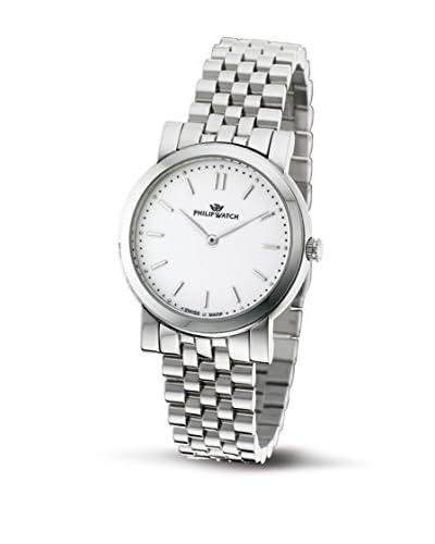 Philip Watch Reloj Slim Plateado 34 mm