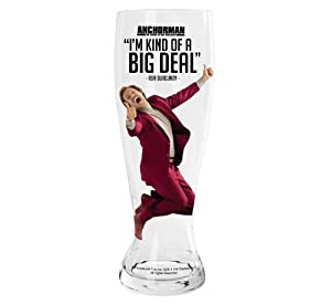 Island Dogs Anchorman Giant Beer Glass by Island Dogs