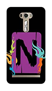 SWAG my CASE PRINTED BACK COVER FOR ZENFONE 2 LASER 601 Multicolor