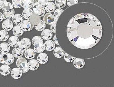 HOTFIX Crystal Clear Rhinestones Flatback 144 SWAROVSKI #2078 4.8mm 20ss ss20 (Hotfix Swarovski Crystals Ss20 compare prices)
