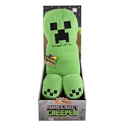 Minecraft Creeper Plush With Sound from Minecraft