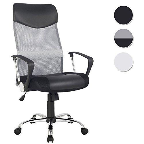 SixBros. Office Poltrona Sedia ufficio grigio/nero - H-935-6/2061