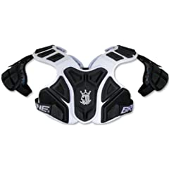 Brine King 4 Mid Lacrosse Shoulder Pad by Brine