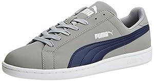 Puma Puma Smash Buck - zapatilla deportiva de material sintético unisex, color gris, talla 42.5 EU (8.5 Erwachsene UK)