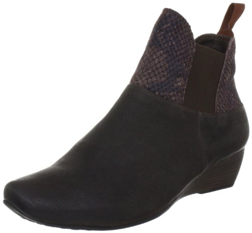Think Liviana Ankle Boots Womens Brown Braun (espresso/kombi 42) Size: 5 (38 EU)