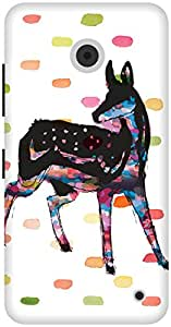 The Racoon Grip Oh Deer hard plastic printed back case / cover for Nokia Lumia 630